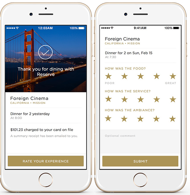 Another Restaurant Reservation Concierge App Enters The Sf