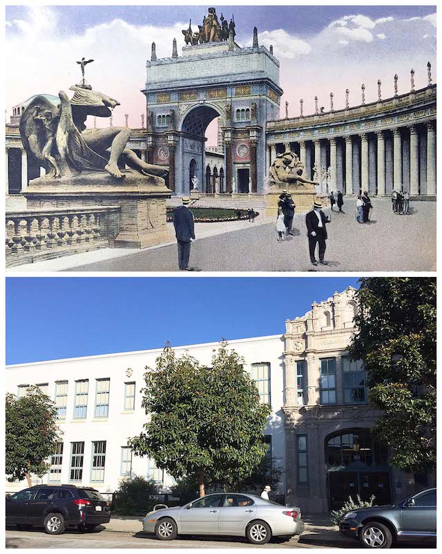 Cool Historic Side-By-Sides Of The 1915 Panama Pacific International Expo And The Modern-Day Marina: SFist