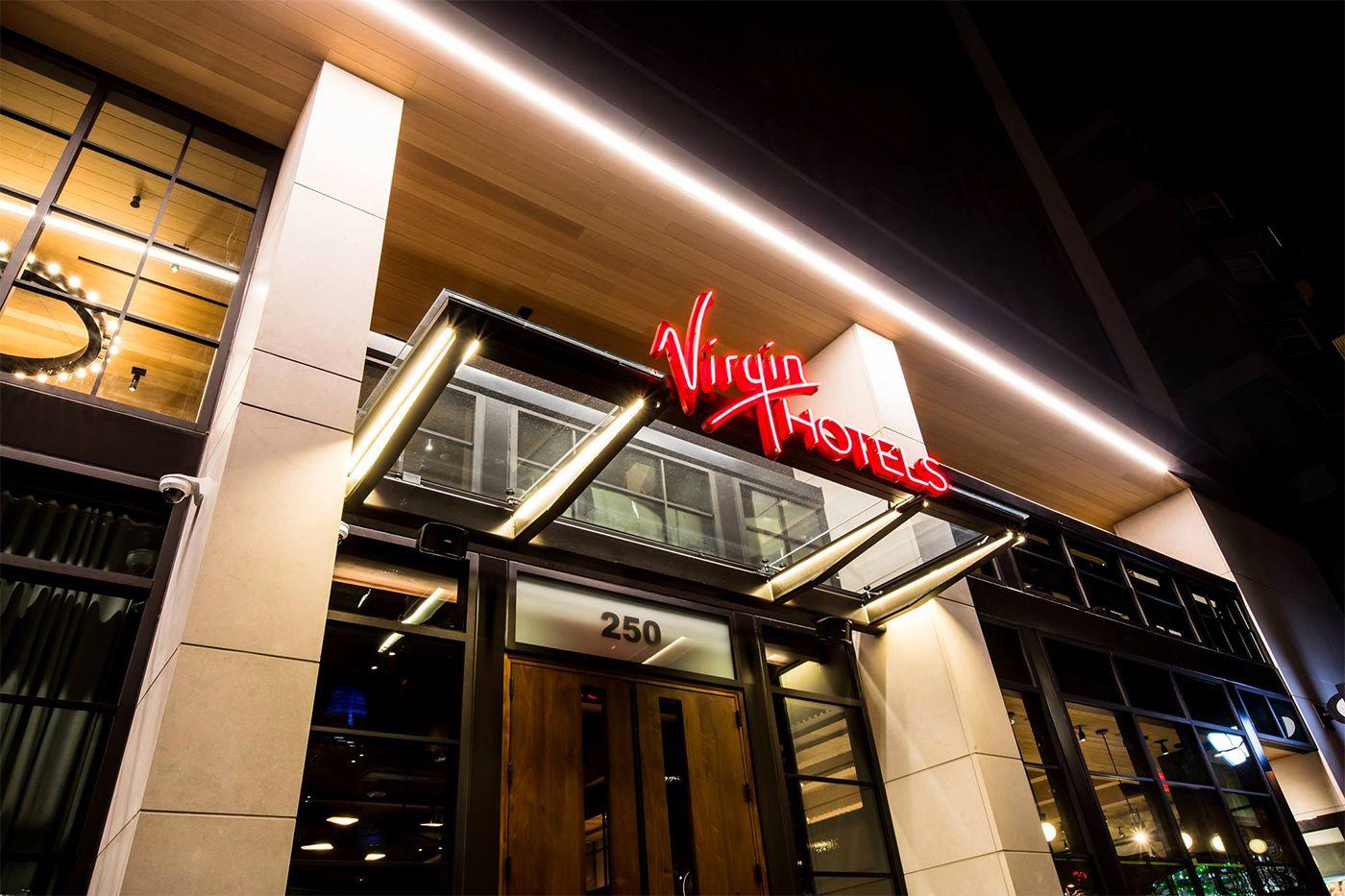 Virgin hotel front