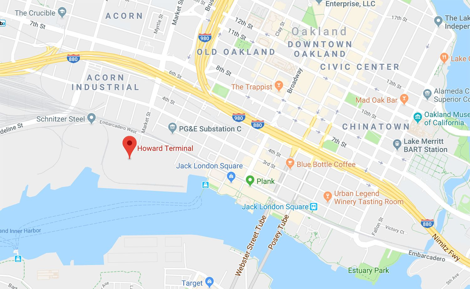 Proposed A\'s Ballpark On Oakland Waterfront Clears First Legislature ...