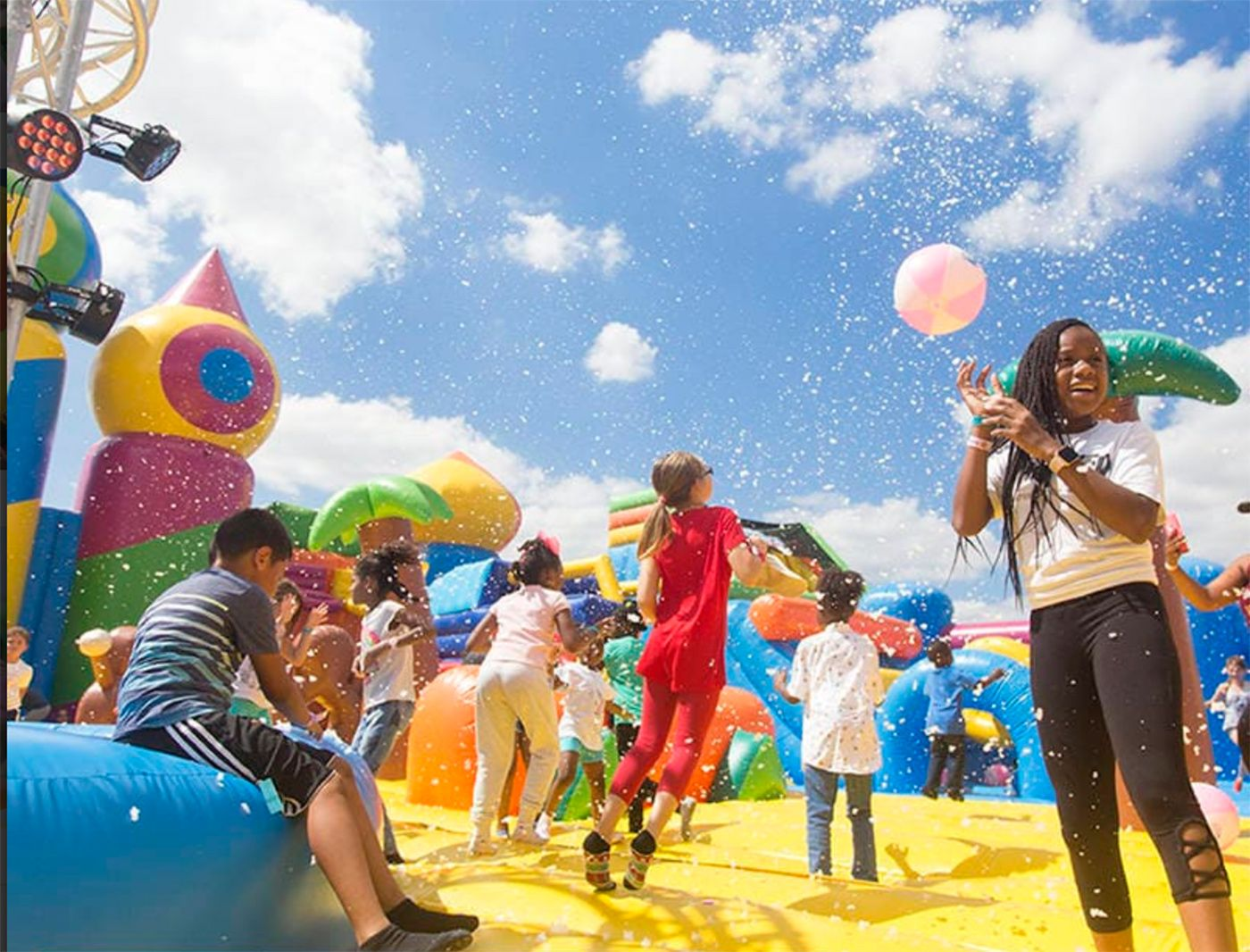 World's Biggest Bounce House Arrives In The Bay Area This Week