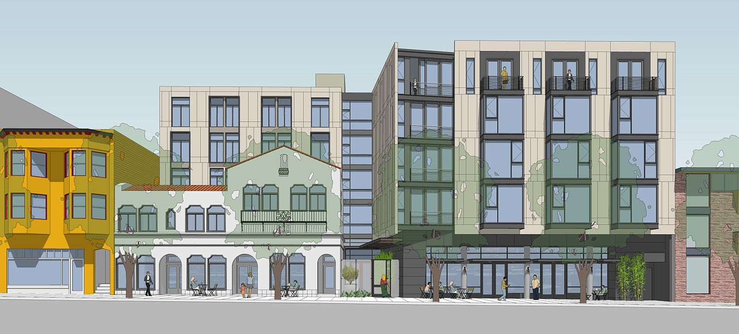 Former Castro Funeral Home Set To Turn Into Large Apartment Complex