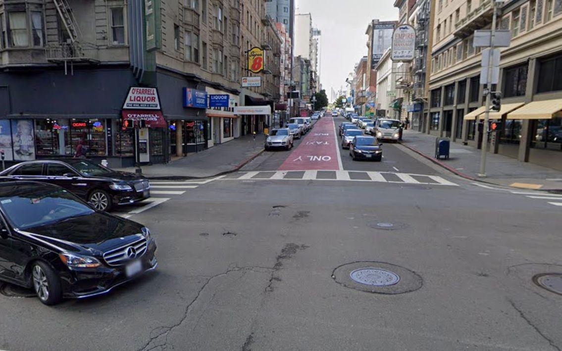 Two-Car Collision In Tenderloin Kills Husband, Injures Wife In Crosswalk