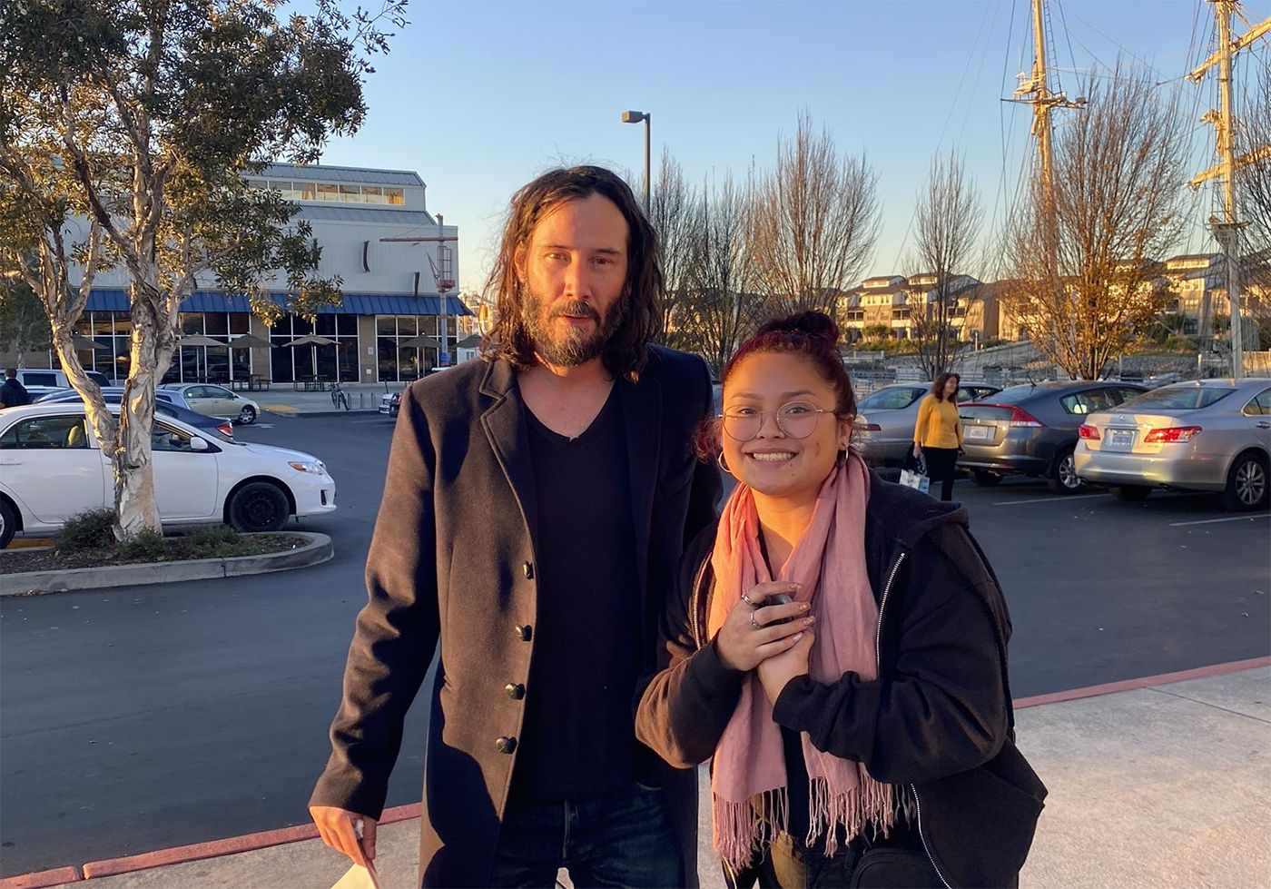 Keanu Reeves, Maybe Already In Town For the 'Matrix 4' Shoot, Had Baskin-Robbins In Alameda