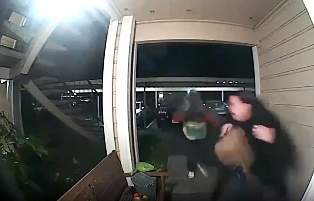 Video of an Armed Robbery On a Woman's Doorstep Has an Oakland Neighborhood on Edge