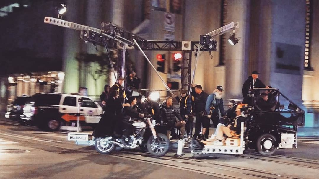 Keanu Reeves Spotted Filming 'The Matrix 4' In The Financial District; Production Continues Into Tomorrow
