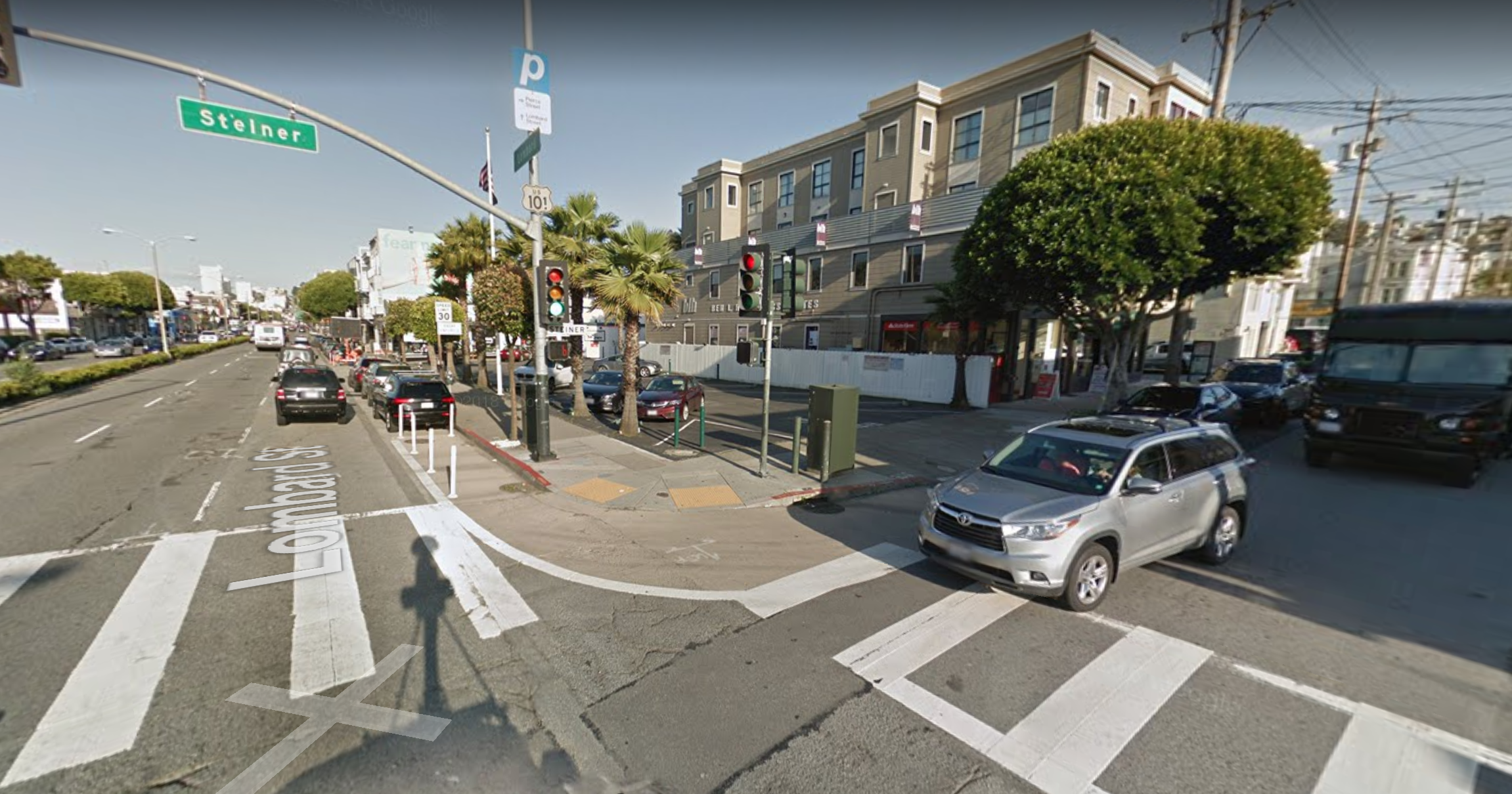 Car Hits Pedestrian At Cow Hollow Intersection, Causing Life-Threatening Injuries