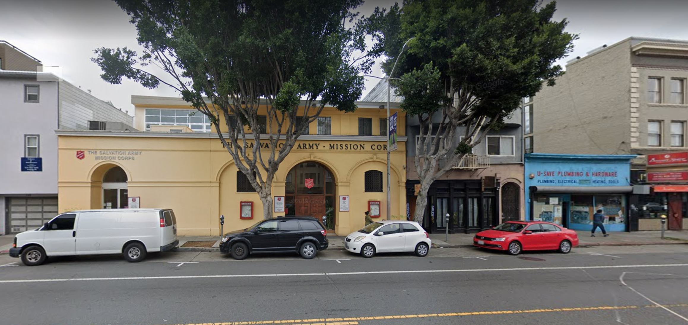 Salvation Army Community Center Off Valencia Street Might Become Homeless Shelter