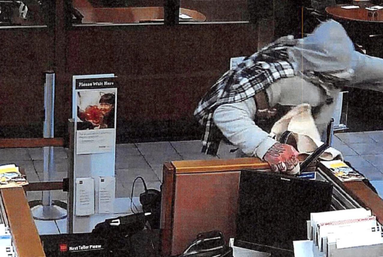 SF Bank Robber In Mask Identified By Hand Tattoos
