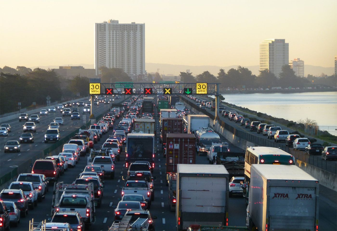 Tuesday Morning Topline: Big Rig Rollover Crash Snarls I-80 In Emeryville