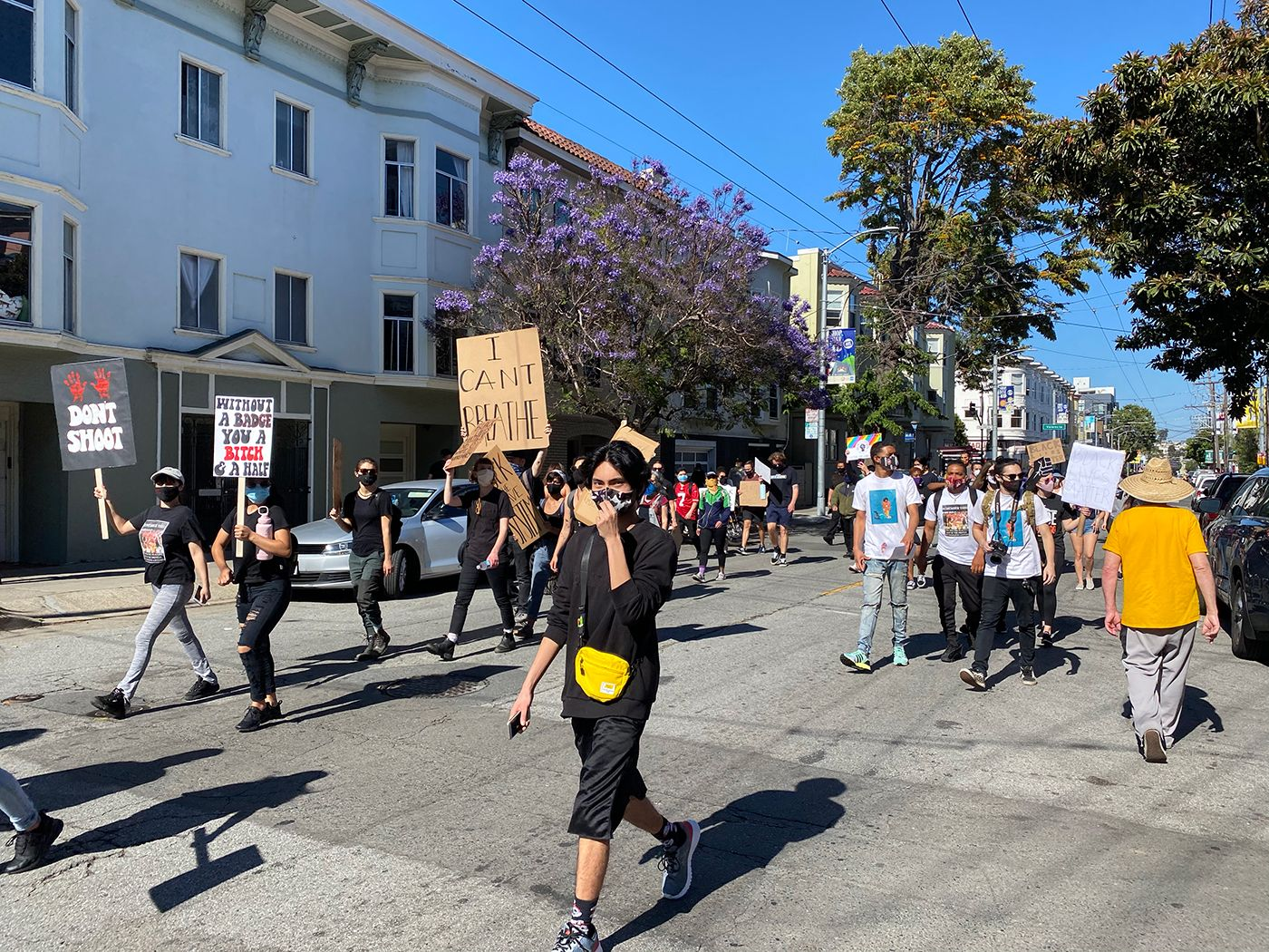 Friday Protests In Mission and Castro, and Critical Mass Ride Kicks Off on Embarcadero