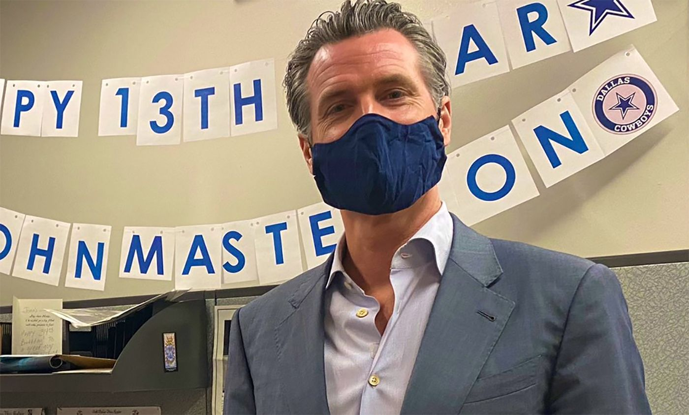 Newsom Says Indoor Restaurants and Wineries That Have Opened In California Must Close