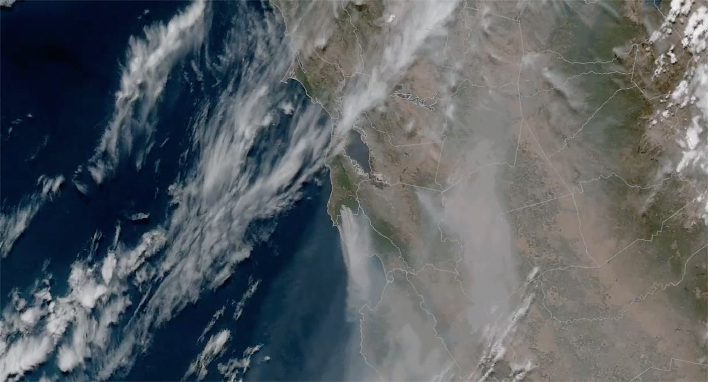 Day Around the Bay: San Mateo County Wildfire Prompts Evacuations