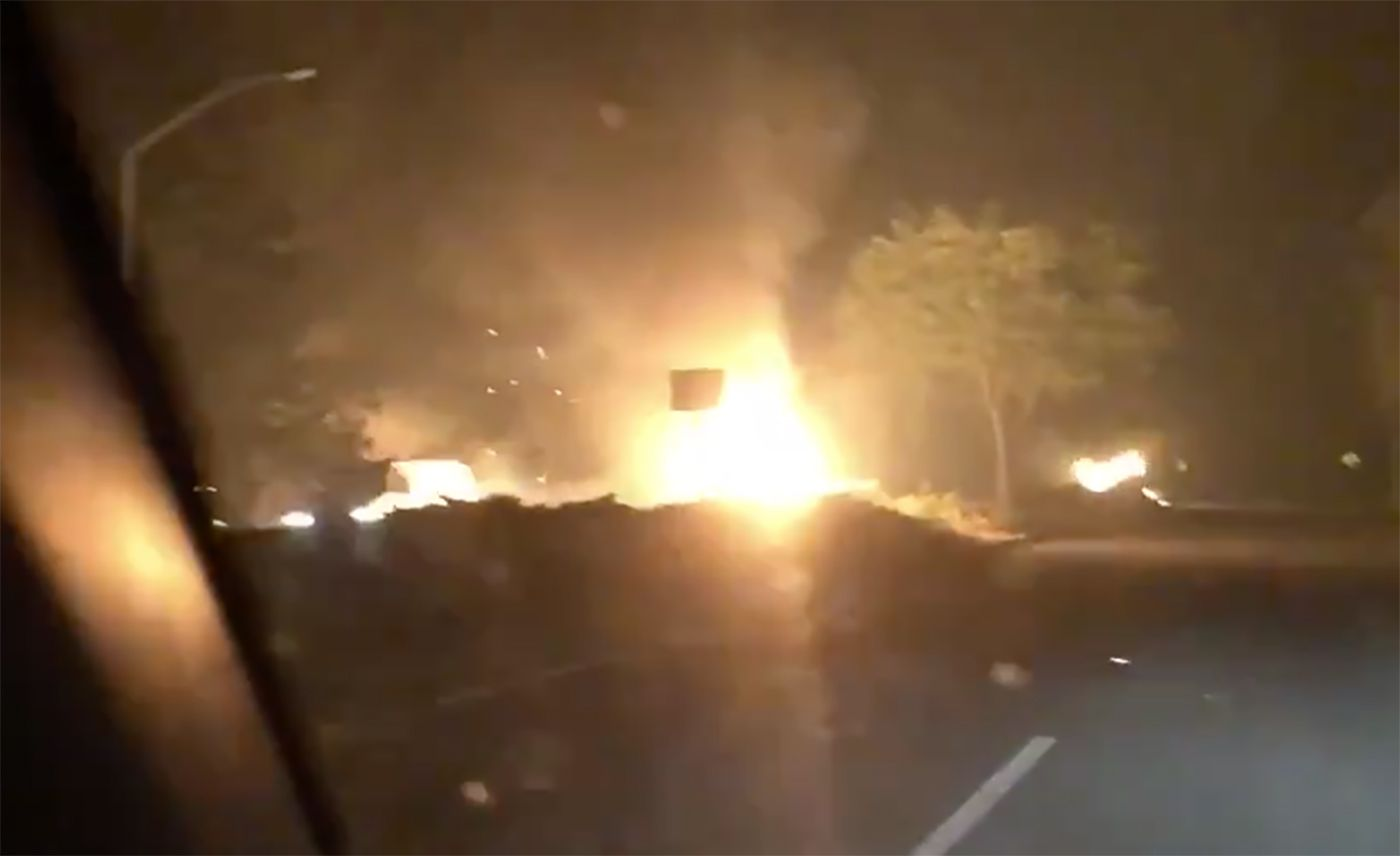 Wildfires Return to Areas of Wine Country Burned in 2017; Evacuation Orders Hit Santa Rosa, Kenwood, Glen Ellen
