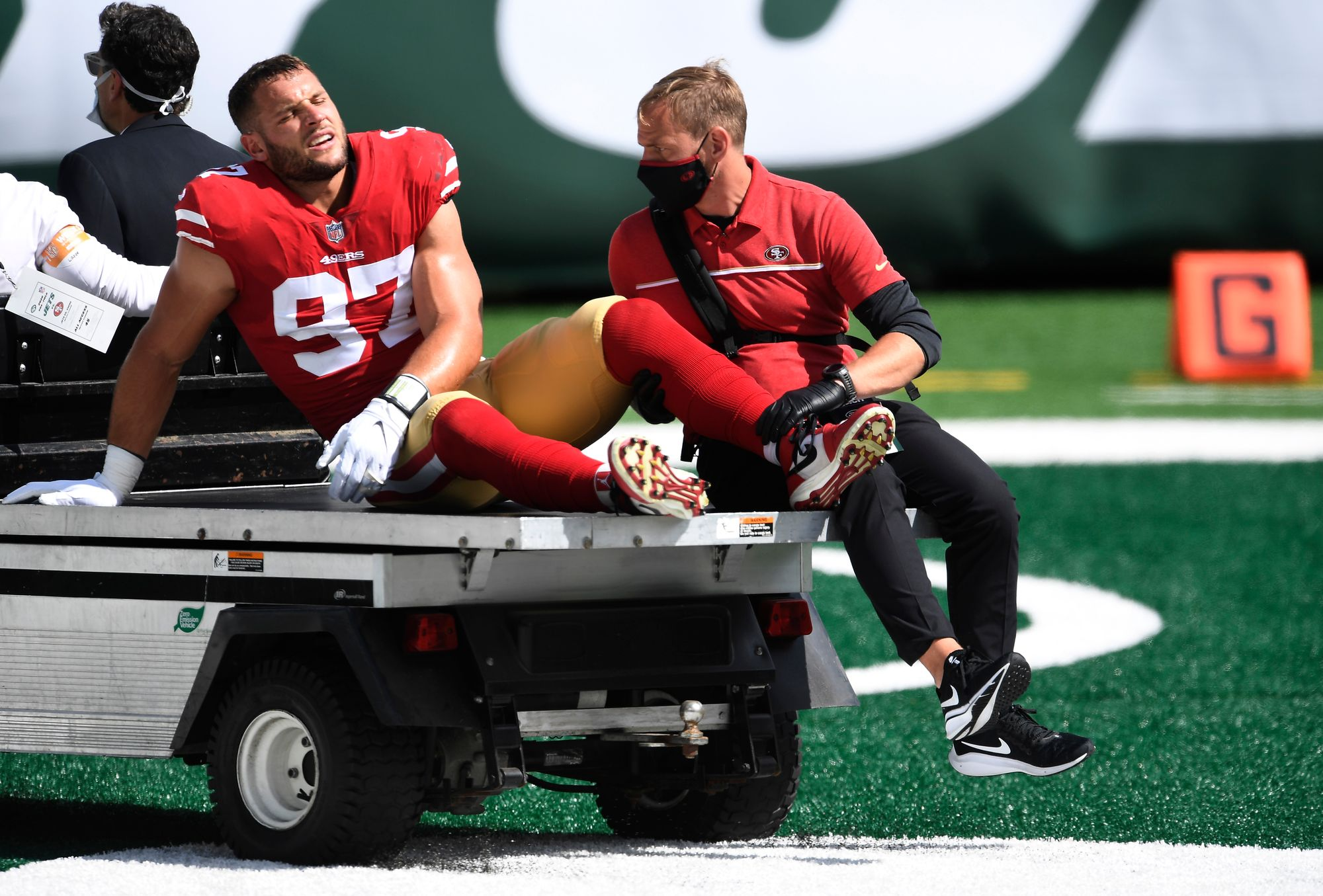 49ers' Depleted Roster Sustains More Injuries in 31-13 Win Against Jets
