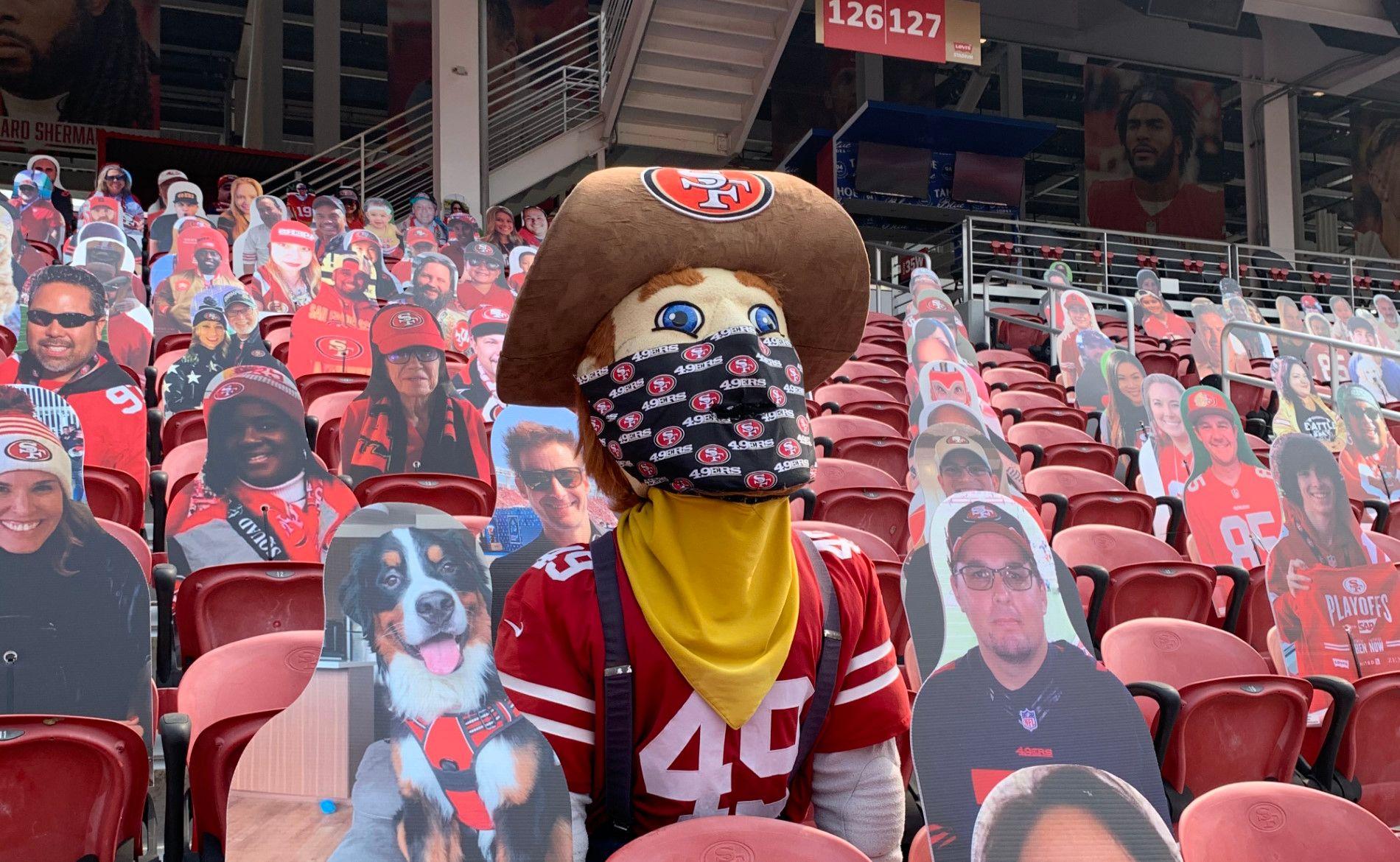sourdough sam the last fan standing at levis.'