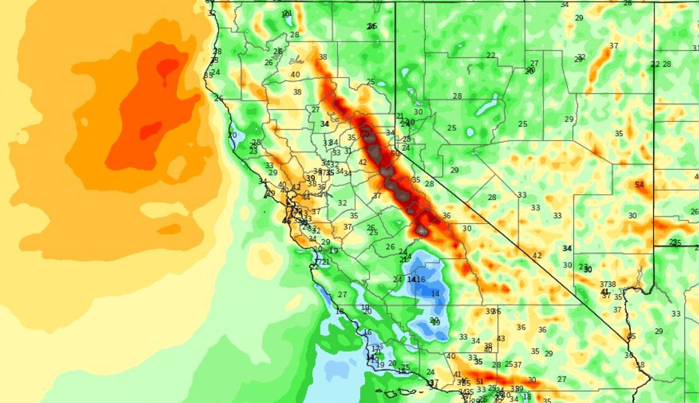 Extreme Wind Event Arrives Early Next Week With Even Greater Potential Fire Danger, More PSPS Likely