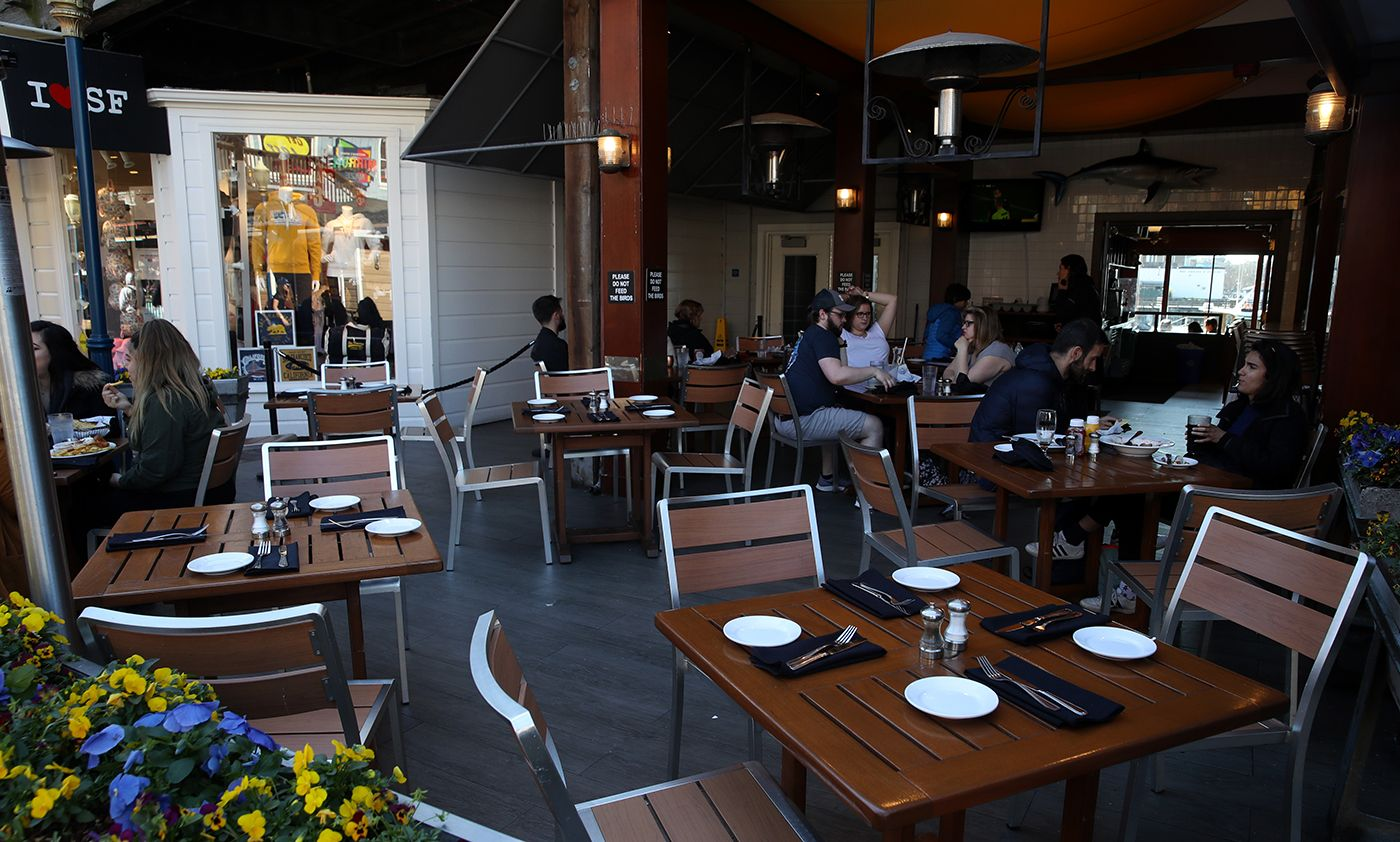 San Francisco to Allow 50% Capacity In Restaurants, Outdoor Bars Without Food As It Becomes First Bay Area County to Enter 'Yellow' Tier