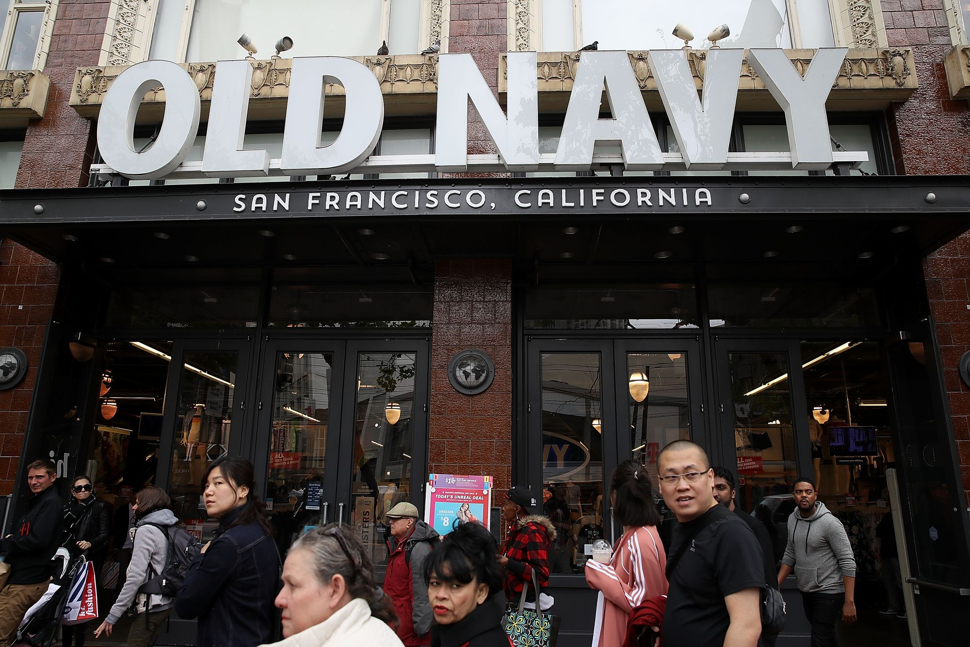 Day Around the Bay: Old Navy Is Moving Back In With Gap Inc.