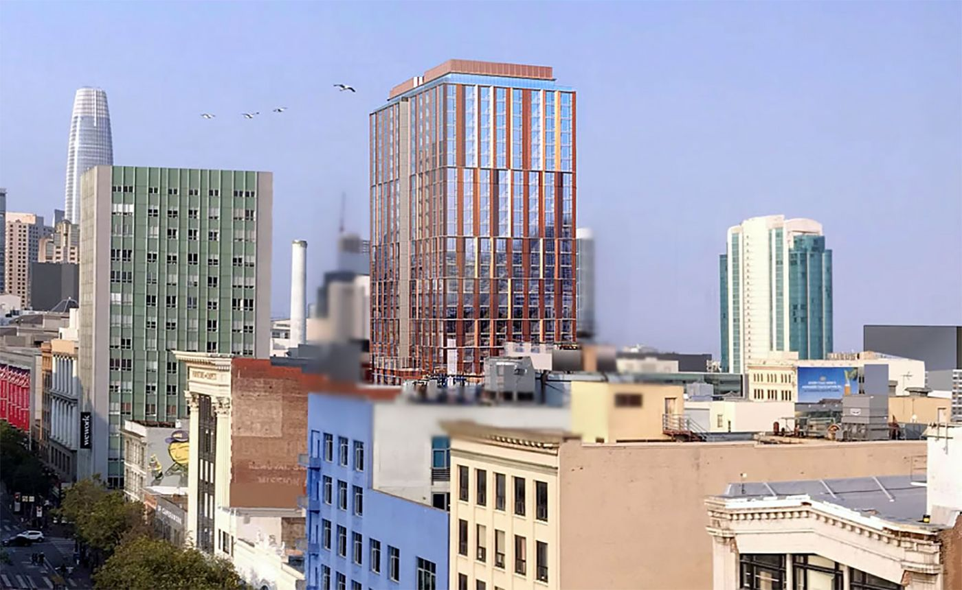 27-Story Residential Tower Likely to Add to Quickly Changing SoMa Skyline