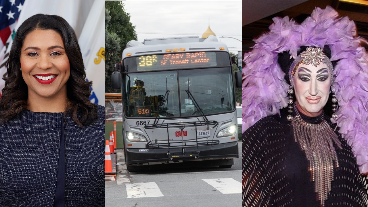 Listen: 'Celebrity Muni Announcements' From London Breed, Renel, Sisters of Perpetual Indulgence