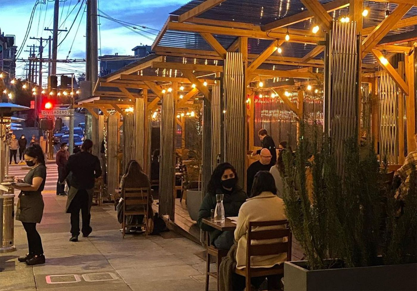 SF Restaurant and Bar Parklets Could Become Permanent, But Supervisors Are Keen on Imposing More Rules