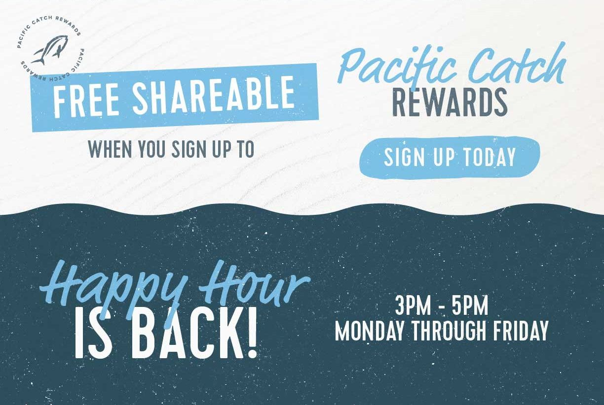 Pacific Catch Rewards Sign Up
