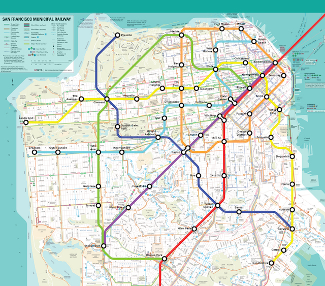 Close Your Eyes And Imagine If This Fantasy Muni Map Were ...