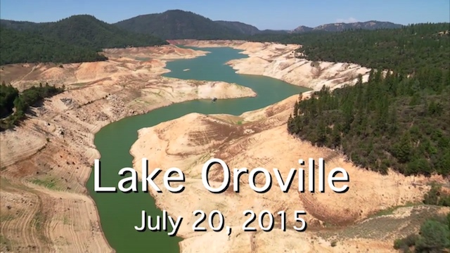 Video: Drone Footage Of NorCal Reservoirs Shows How Bad The Drought Is