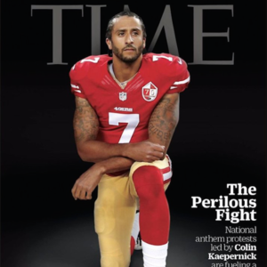 49er Colin Kaepernick To Grace Cover Of 'Time' Following National Anthem Protest