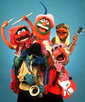 ElectricMayhem muppets There is an outside cam and 2 inside cams: