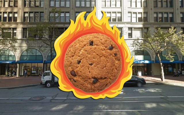 Cookie Monster Sets Fire to $1,400 Worth Of Baked Goods
