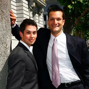 gay-couple-utah-wedding.jpg A California gay couple who were legally married ...