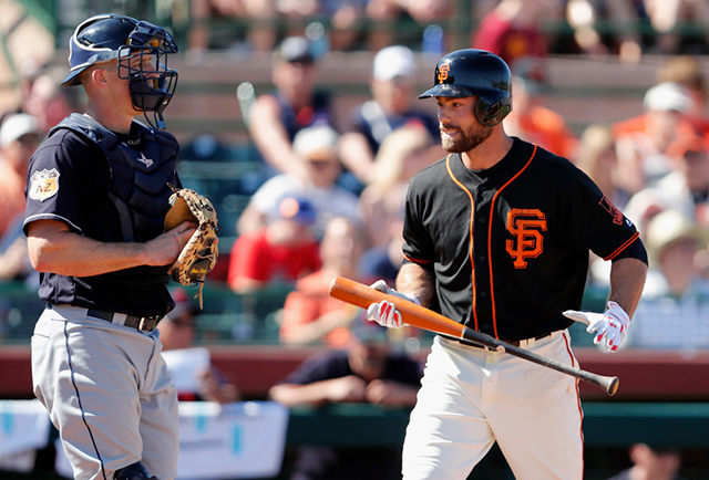 Bumgarner sets record with 2 Opening Day HRs