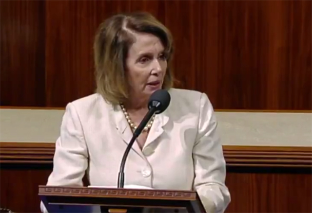 Democrat Nancy Pelosi holds briefing after congressional baseball shooting