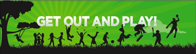 get out and play banner