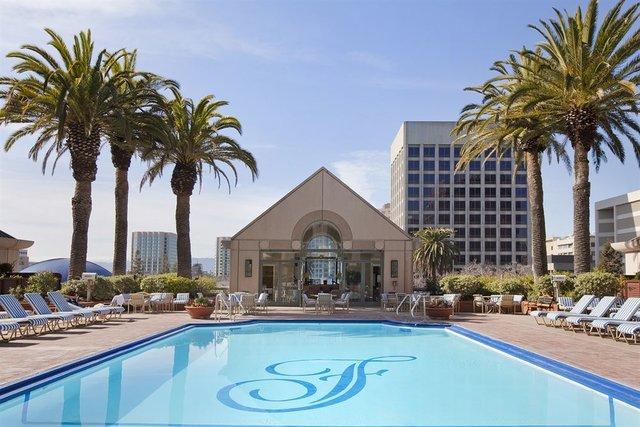 Fairmont San Jose pool