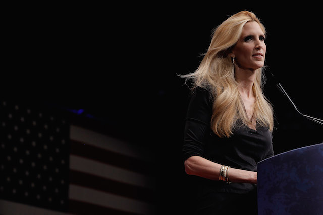 Ann Coulter in 2012. Chip Somodevilla  Getty Images