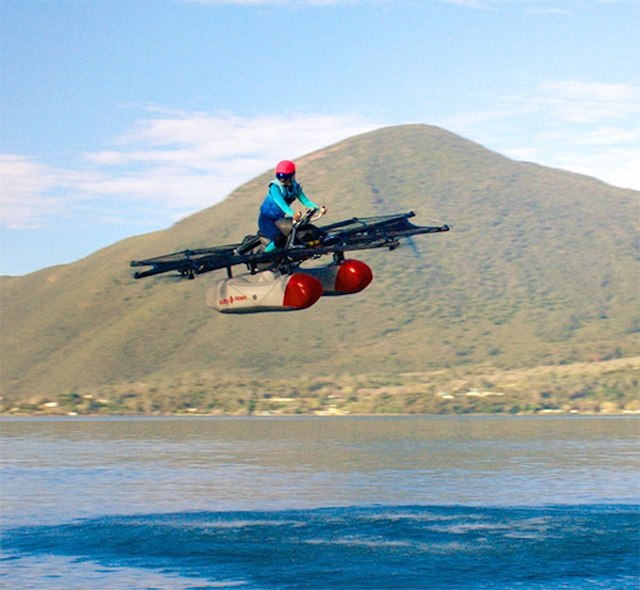 Startup Kitty Hawk backed by Google's Larry Page reveals flying auto prototype