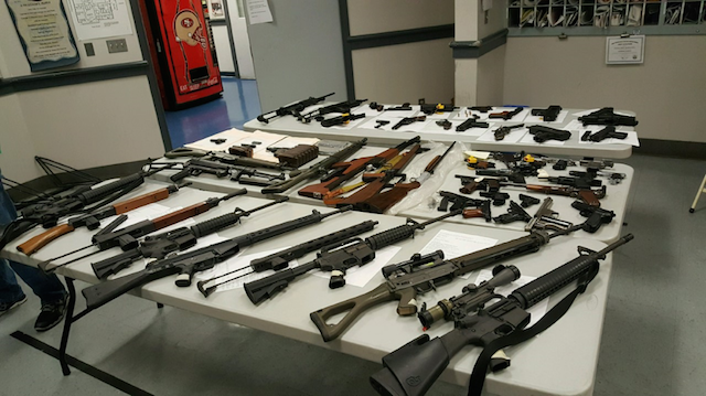 San Francisco police recover 57 weapons in home, arrest man