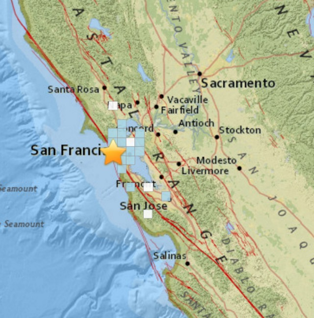 Preliminary magnitude 4.1 quake strikes near Searles Valley